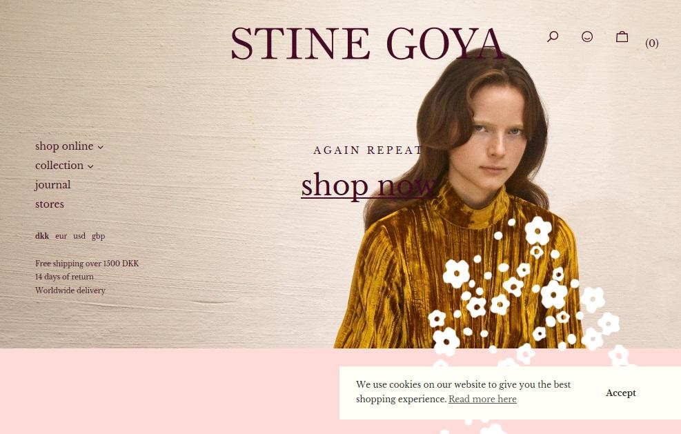 stine goya